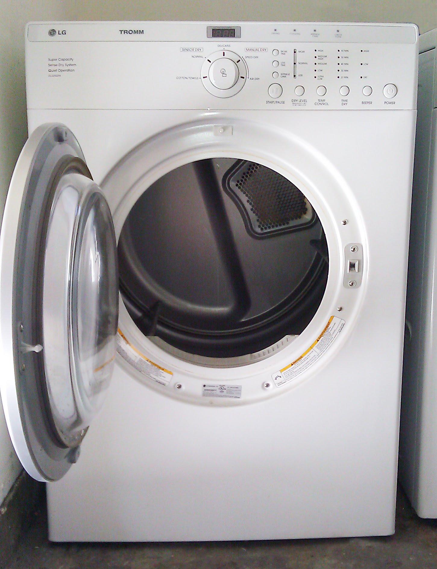 lg tromm gas clothes dryer 275   doug kramer